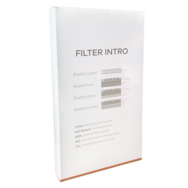 BRISE filter color box back