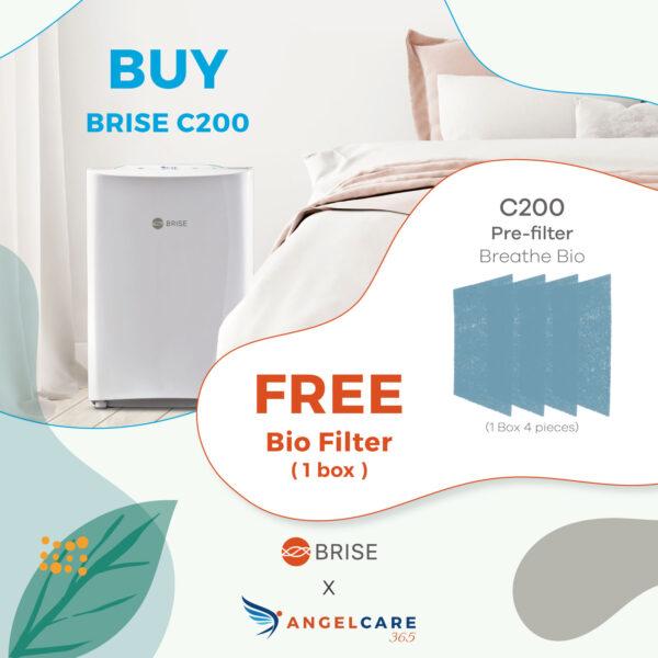 BRISE C200 + Bio filter